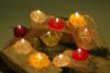 paraffin wax candles handicraft