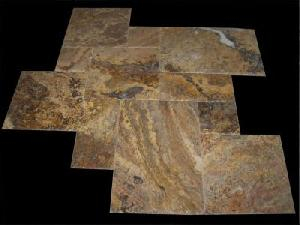 Scabos Travertine, Quality Natural Stone Blocks, Tiles And Slaps, Mosaics Of Marble