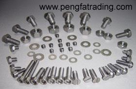 titanium tubes targets rings fasteners