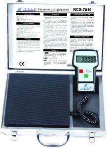 refrigeration tool hvac refrigerant charging scale rcs 7020