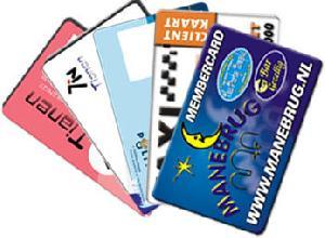 preprinted card cr80 iso