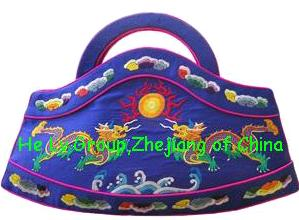 handmade embroidery fashion handbag