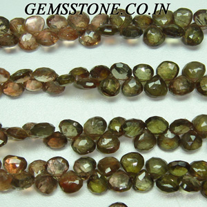 andluside hearts briollets gemstone