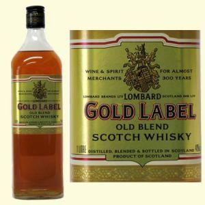 3yo blendeed scotch whisky lombards gold label