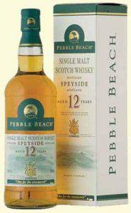 12yo malt spey side scotch whisky pebble beach