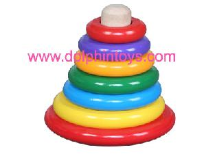 wooden toys stack