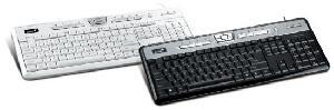 Anti-bacteria And Water Proof Multimedia Keyboard