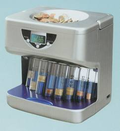 coin counter sorter banknote money currency cash bill