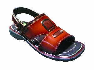 hand leather sandals