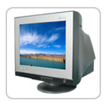 15 regurlar flat crt monitors 556ca