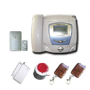 telephone burglar alarm system