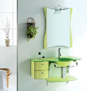 glass furniture cabinet sanitaryware