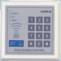 q2000 proximity card stand access control