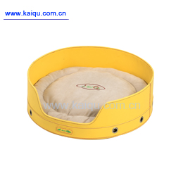 round pet bed