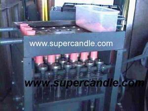 candle machine crayon