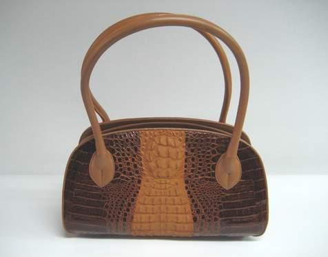 crocodile skin leather handbag alligator wallets belts briefcases