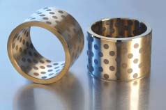 bronze bearing jdb solid lubricating bushings gleitlager dry