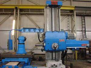 ceruti ad 130 boring mill machinery