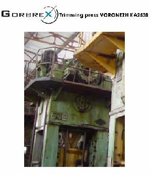 voronezh k2540 press trimming machinery