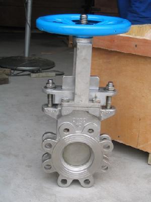 guillotine valve
