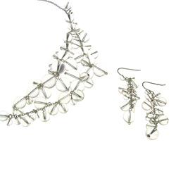 necklace earrings 07019