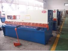 guillotine shear hydraulic swing beam metal cutting machine