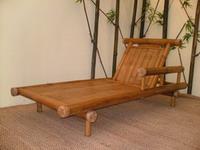 bamboo chair relax garden furniture lounge beach bech craft outdoor