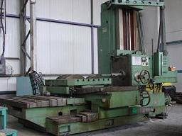defum wfe 100 boring mill machinery