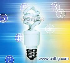 mini spiral energy saving lamp cfl half sensor bulb