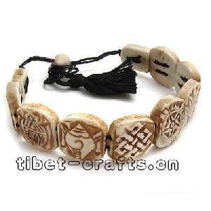 ox bone jewelry tibet