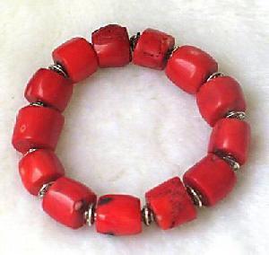 tibet coral bead bracelet