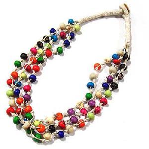 tibetan necklace bones