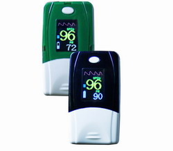 fingertip pulse oximeter handheld