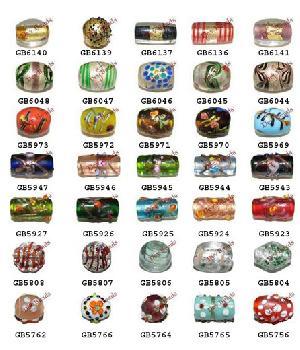 handmade indian beads glass