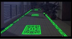 glow dark ceramic wall floor tiles export
