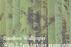 bamboo woven slats wallpaper wall ceiling cover wainscot