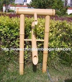 shishi odoshi bamboo rocking fountain deer chaser w pump scarer oriental tradional styl