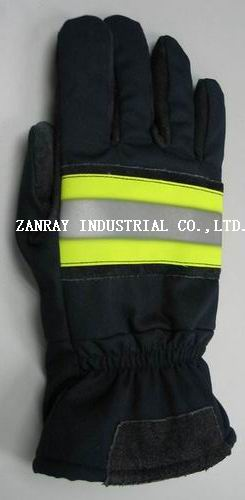 nomex fire fighter's gloves