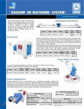 vacuum de watering system india