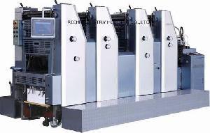 4 sheet fed offset printing press