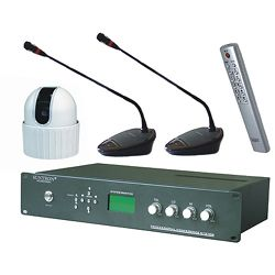 modular video track conference system