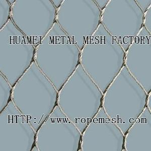 stainless steel wire mesh animal enclosure