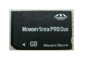 manufacture memory stick pro duo 128mb 8gb