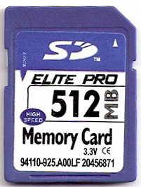manufacture secure digital memory card 512mb