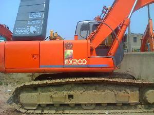 hitachi excavator ex200 5 paint