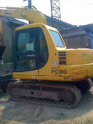 komatsu mini excavator pc60 7