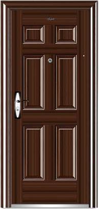 export steel wooden door