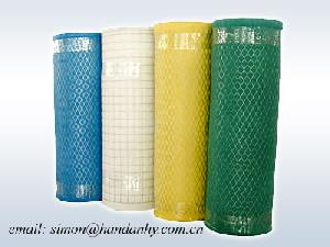 wire mesh coated fabric filter