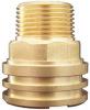 precison brass insert valve