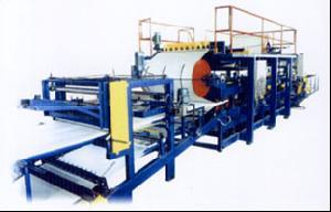 steel sandwich panel compound machine